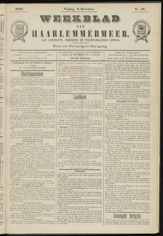 Weekblad van Haarlemmermeer 1882-12-08