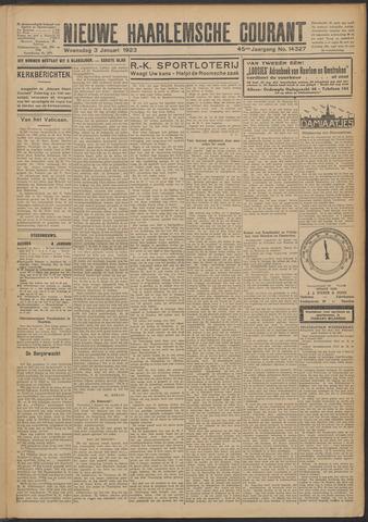 Nieuwe Haarlemsche Courant 1923-01-03