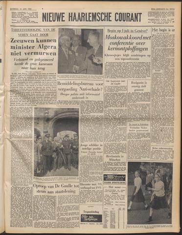 Nieuwe Haarlemsche Courant 1958-06-14