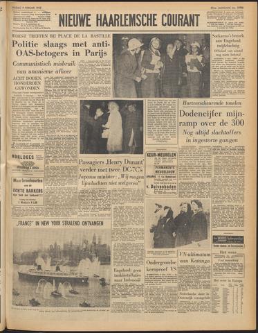 Nieuwe Haarlemsche Courant 1962-02-09