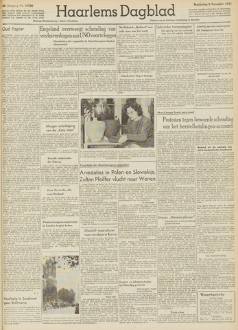 Haarlem's Dagblad 1947-11-06