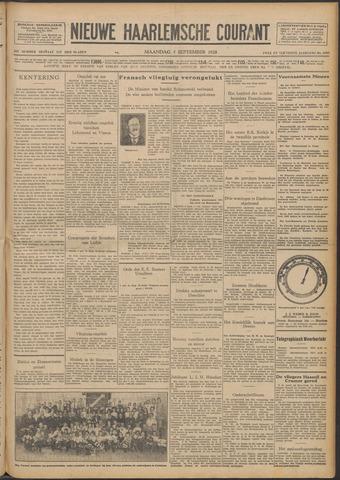 Nieuwe Haarlemsche Courant 1928-09-03