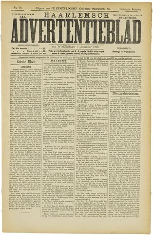 Haarlemsch Advertentieblad 1898-12-07