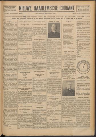 Nieuwe Haarlemsche Courant 1930-09-29