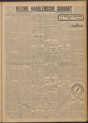 Nieuwe Haarlemsche Courant 1923-12-11