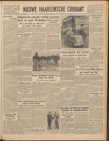 Nieuwe Haarlemsche Courant 1950-01-25