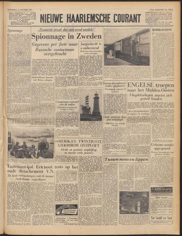 Nieuwe Haarlemsche Courant 1951-10-31
