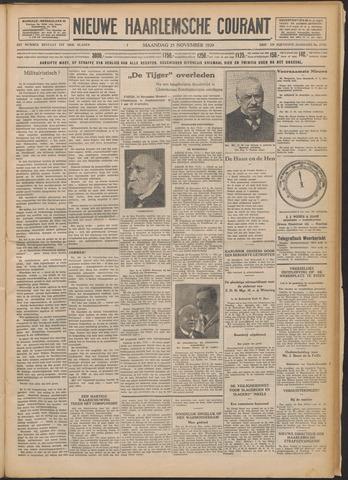 Nieuwe Haarlemsche Courant 1929-11-25
