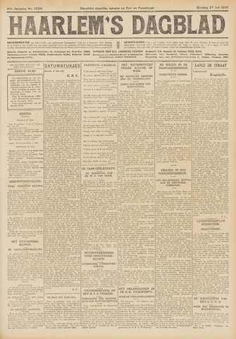 Haarlem's Dagblad 1926-07-27