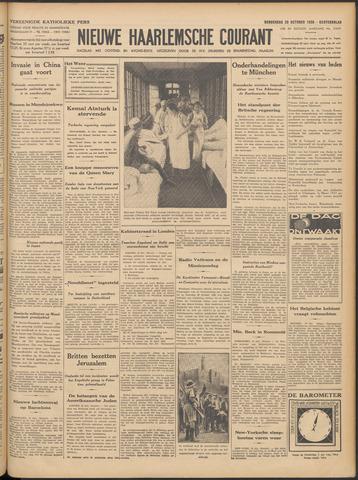 Nieuwe Haarlemsche Courant 1938-10-20