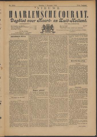 Nieuwe Haarlemsche Courant 1896-11-07