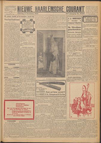 Nieuwe Haarlemsche Courant 1922-12-02