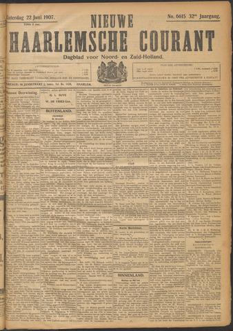 Nieuwe Haarlemsche Courant 1907-06-22