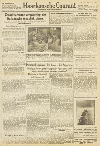 Haarlemsche Courant 1943-09-29