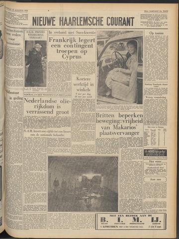 Nieuwe Haarlemsche Courant 1956-08-30