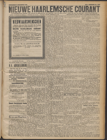 Nieuwe Haarlemsche Courant 1919-12-18