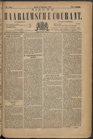 Nieuwe Haarlemsche Courant 1892-09-04