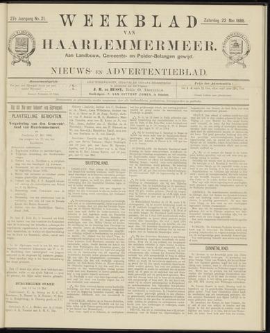 Weekblad van Haarlemmermeer 1886-05-22