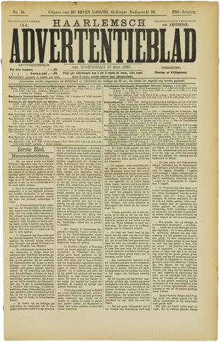 Haarlemsch Advertentieblad 1889-06-12