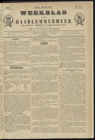 Weekblad van Haarlemmermeer 1884-12-26
