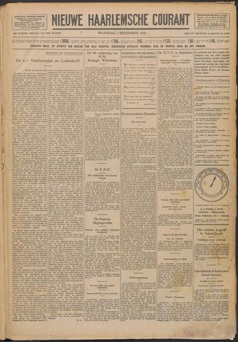 Nieuwe Haarlemsche Courant 1930-09-01