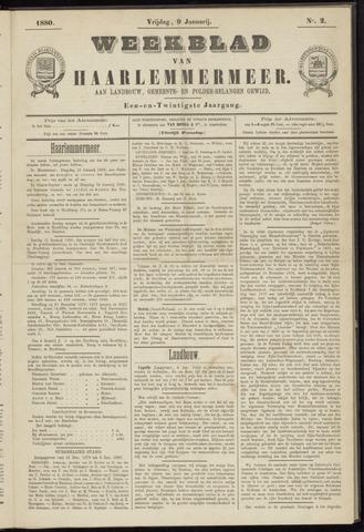 Weekblad van Haarlemmermeer 1880-01-09