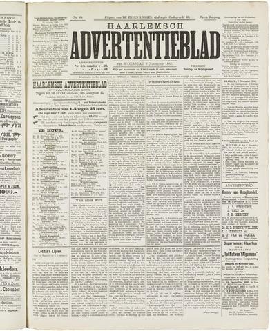 Haarlemsch Advertentieblad 1882-11-08
