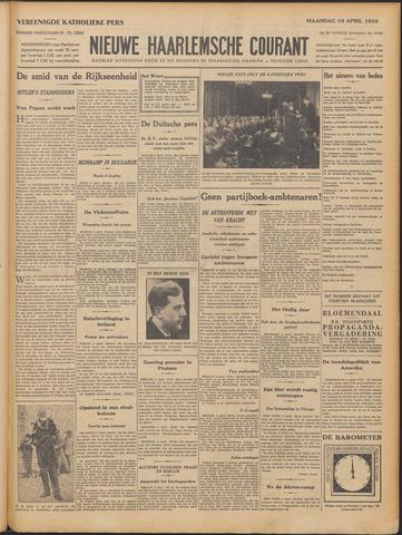 Nieuwe Haarlemsche Courant 1933-04-10