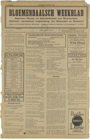 Het Bloemendaalsch Weekblad 1921
