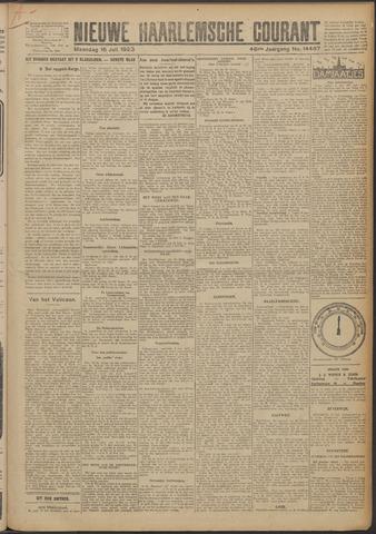 Nieuwe Haarlemsche Courant 1923-07-16