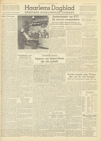 Haarlem's Dagblad 1954-11-16
