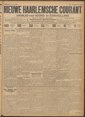 Nieuwe Haarlemsche Courant 1909-07-21