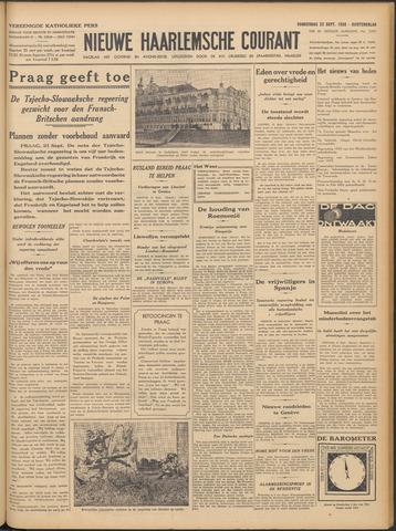 Nieuwe Haarlemsche Courant 1938-09-22