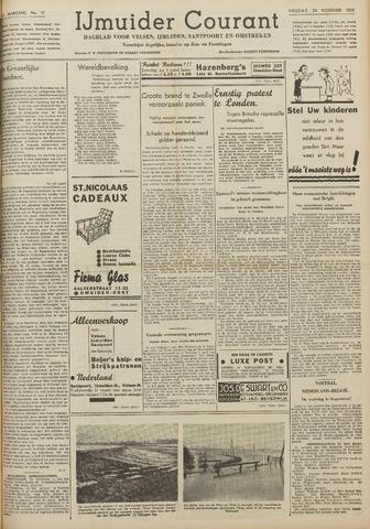 IJmuider Courant 1939-11-24