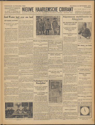 Nieuwe Haarlemsche Courant 1935-09-30