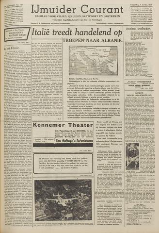 IJmuider Courant 1939-04-07