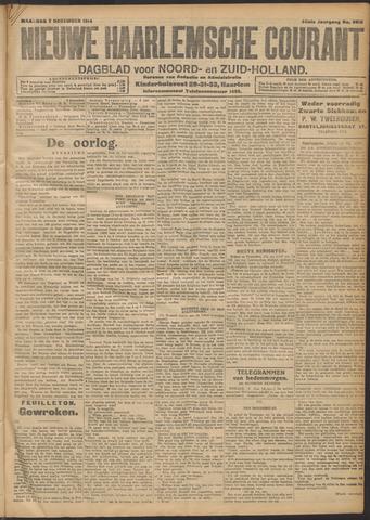 Nieuwe Haarlemsche Courant 1914-12-07