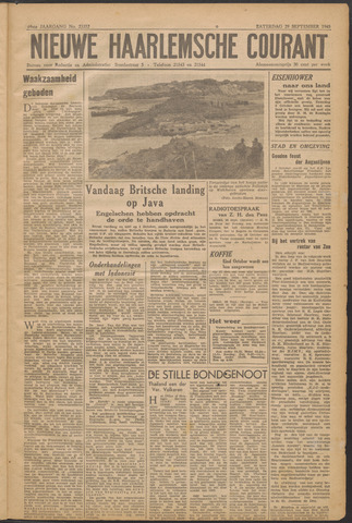 Nieuwe Haarlemsche Courant 1945-09-29