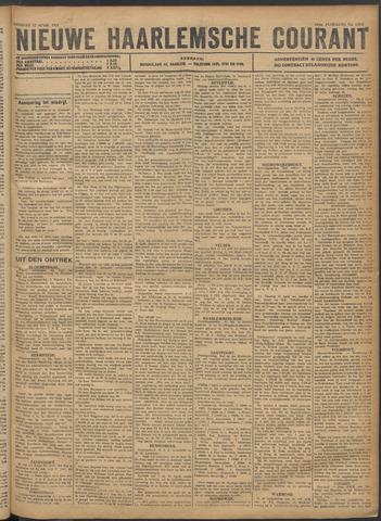 Nieuwe Haarlemsche Courant 1921-04-12