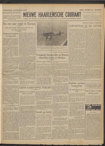 Nieuwe Haarlemsche Courant 1940-09-01