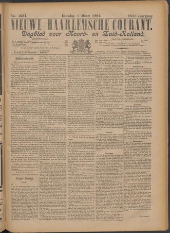 Nieuwe Haarlemsche Courant 1904-03-01