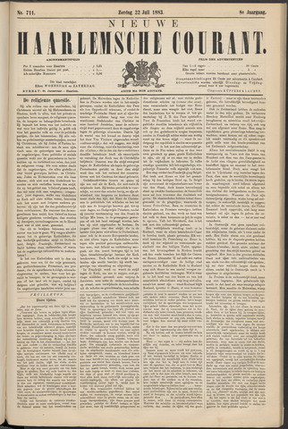 Nieuwe Haarlemsche Courant 1883-07-22