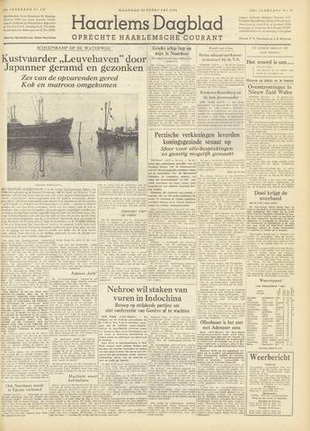 Haarlem's Dagblad 1954-02-22