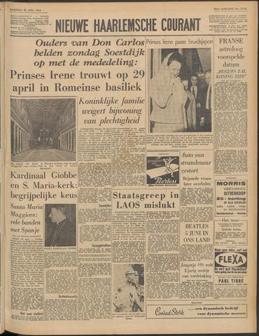 Nieuwe Haarlemsche Courant 1964-04-20