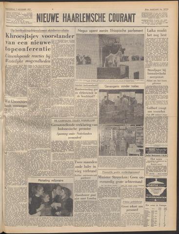 Nieuwe Haarlemsche Courant 1957-11-07