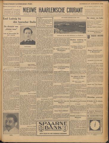 Nieuwe Haarlemsche Courant 1932-08-27