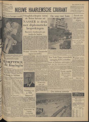 Nieuwe Haarlemsche Courant 1956-08-06