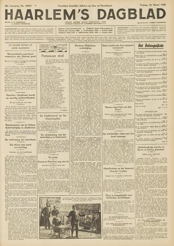 Haarlem's Dagblad 1935-03-22