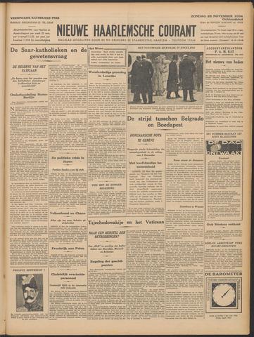 Nieuwe Haarlemsche Courant 1934-11-25