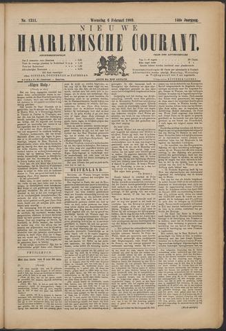 Nieuwe Haarlemsche Courant 1889-02-06